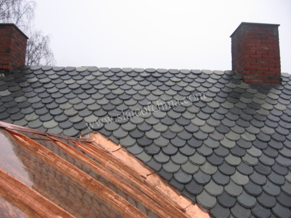 Fish Scale Slate Roofing Tiles Factory China Fish Scale