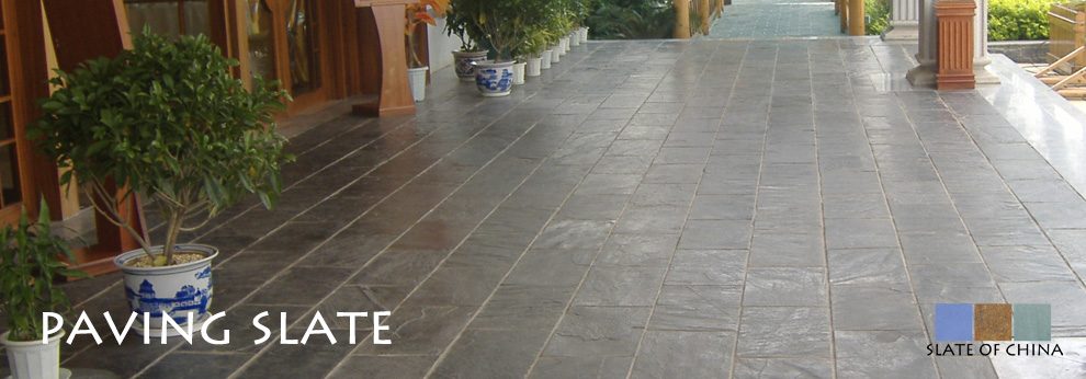 slate paving and flooring